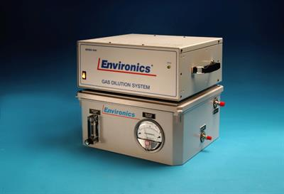Environics - Explosive Gas Mixing/Dilution Applications