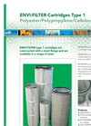ENVI-FILTER - Model TYPE 1 - Filter Cartridges - Brochure
