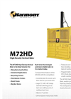 Harmony M72HD High Density Vertical Baler - Brochure