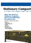 Harmony C300 Stationary Outdoor Compactor - Brochure