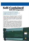 Harmony Self-Contained Outdoor Compactor - Brochure