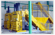 Reduced Touches With Conveyor Fed Automatic Balers & Compactors