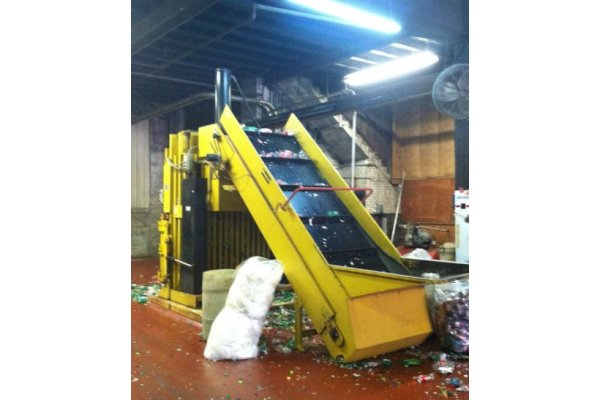 Automatic Vertical Baler-1