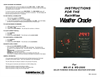 RainWise - MK-III - Oracle Display for Wireless Weather Station Instructions Manual