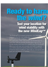 WindLog - Compact, Inexpensive Wind Data Logger - Datasheet