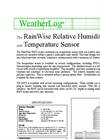RainWise - RH/TP - Precision Relative Humidity and Temperature - Datasheet