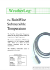 RainWise - ST-TH2O - Soil/Water Temperature Sensor - Brochure