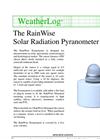 Solar Radiation Pyranometer - SOL-PYR Datasheet