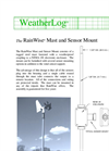 RainWise - MOUNT - Mast and Sensor Mount - Datasheet