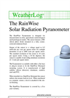 RainWise - Solar Radiation Pyranometer Datasheet