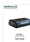 RainWise - Model IP-100 - Network Interface - Manual