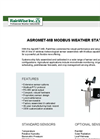AgroMET-MB  - Commercial Modbus Weather Station - Brochure