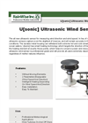 U[Sonic] Ultrasonic Wind Sensor Brochure