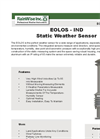 EOLOS - IND Static Weather Sensor Brochure