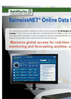 RainwiseNET - Online Data Portal - Brochure