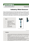 Industry Wind Speed and Direction Sensors Brochure
