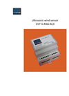 Model CV7-V-ANA-AC3 - Ultrasonic Wind Sensor - User Manual