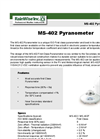 Model MS - 402 - Pyranometer - Brochure