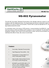 Model MS - 802 - Pyranometer Brochure