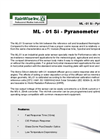 Model ML - 01 Si - Pyranometer Brochure