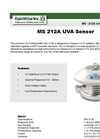 Model MS - 212A - UVA Sensor Brochure