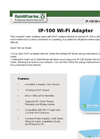 Model IP-100 - Wi-Fi Adapter - Datasheet