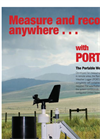 PortLog - Portable Weather Logger - Brochure