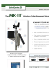 MK-lll - Wireless Solar Powered Weather Station - Catalog