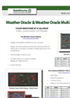 Weather Oracle & Weather Oracle Multi Displays - Catalog
