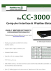 RainWise - CC-3000 - Computer Interface & Weather Data Logger - Catalog