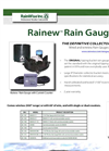 Rainew Rain Gauge - Catalog