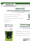 RainLOG - Versatile & Economical Rainfall Data Logger - Catalog