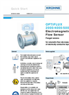 Optiflux - Model 2000 - Electromagnetic Flow Sensor Brochure