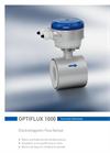 Optiflux - Model 1000 - Electromagnetic Flow Sensor Brochure
