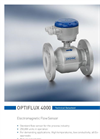Optiflux - Model 4000 - Electromagnetic Flow Sensor Brochure