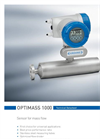 OPTIMASS 1000 Datasheet (PDF 969 KB)