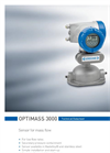 OPTIMASS 3000 Datasheet (PDF 1 MB)
