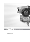 Optiflux - Model 5000 - Electromagnetic Flow Sensor Brochure