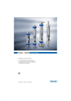 Model VA 45 - Variable Area Flowmeters– Brochure
