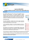 Sonimix - Model 3012/3022 - Multigas Calibration Systems Brochure