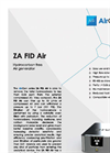 AirGen - Model ZA FID Air - Hydrocarbon Free Air Generator Brochure