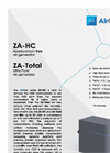 AirGen - Model ZA-HC & ZA-Total - Gas Generators Brochure