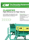 Classifier Product Sheet