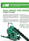 Dual Speed Tire Shredder Product Sheet
