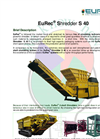 Brochure EuRec S 40 Shredder