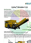 Brochure EuRec S 24 Shredder