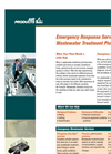 Emergency Response Services for Wastewater Treatment Plants (PDF 482 KB).