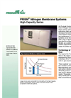 PRISM High-Capacity Series Nitrogen Membrane Systems Datasheet