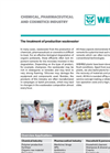 Chemical, Pharmaceutical and Cosmetics Industry: Treatment of production wastewater