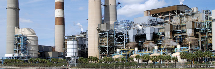 Oil separation and removal systems for Power generation plants industry - Energy - Nuclear Power